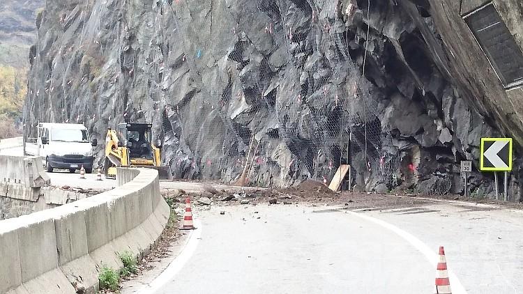 Montjovet, statale 26 chiusa al traffico martedì 18