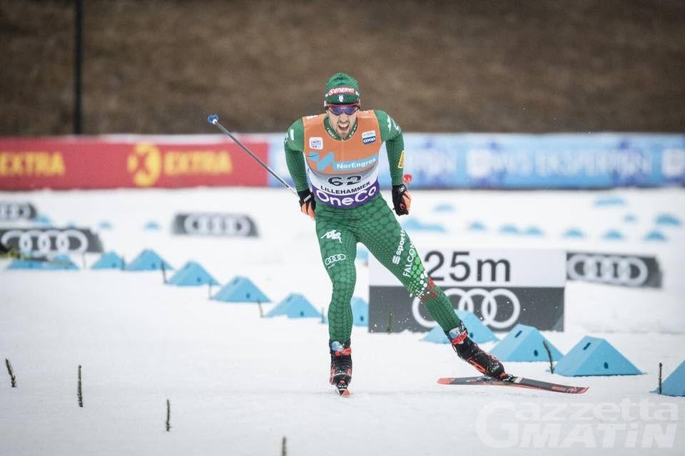 Fondo: Federico Pellegrino secondo nella sprint di Davos
