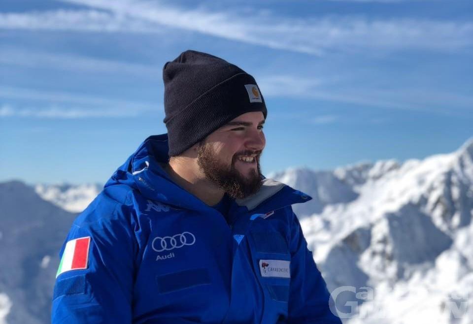 Sci alpino: Federico Simoni esordirà in CdM sulla Saslong