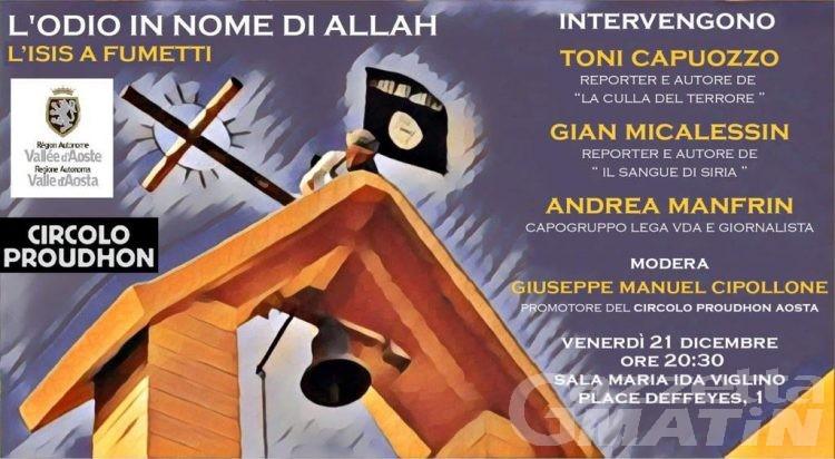 L'odio in nome di Allah, l'Isis a fumetti: una conferenza ad Aosta