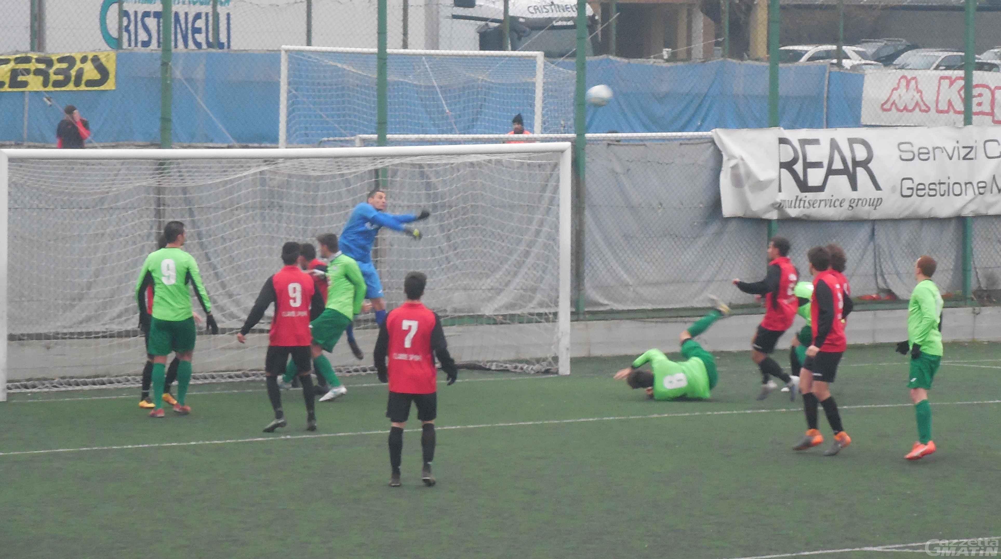 Calcio: l'Aygreville passa a casa del Lucento