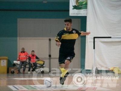 Calcio a 5: Stefano Pellegrino al Città di Asti