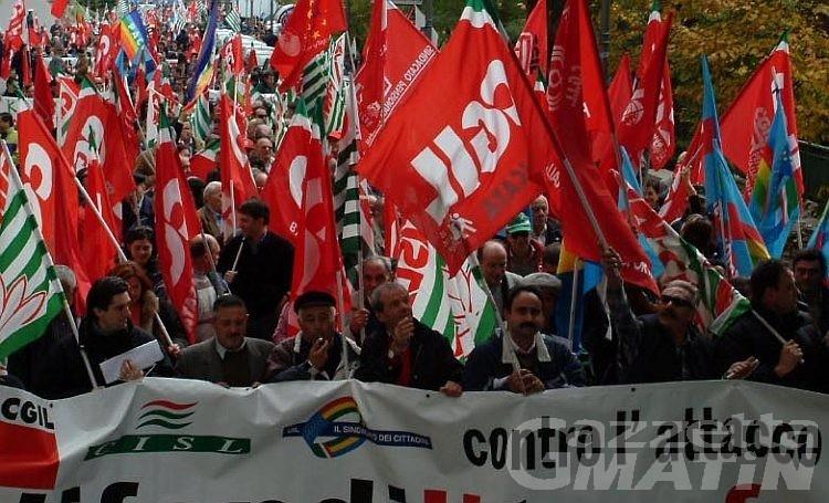 Pensionati: sindacati in piazza contro la finanziaria