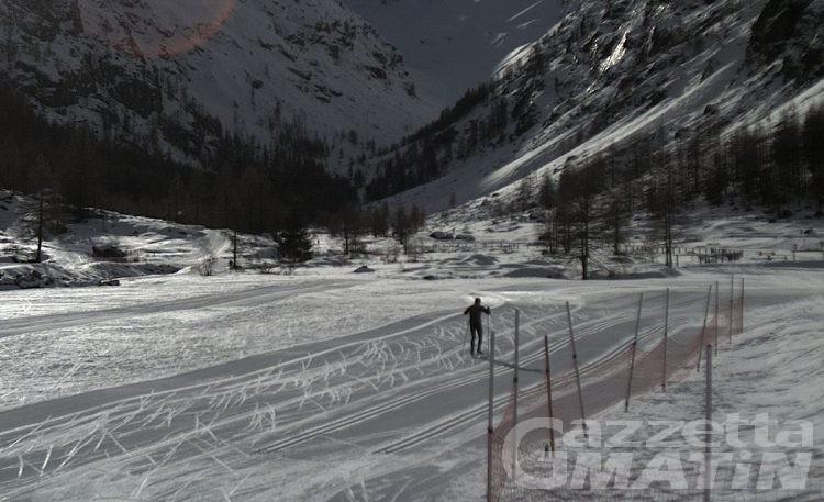 Valsavarenche, apre la pista di fondo di Pont