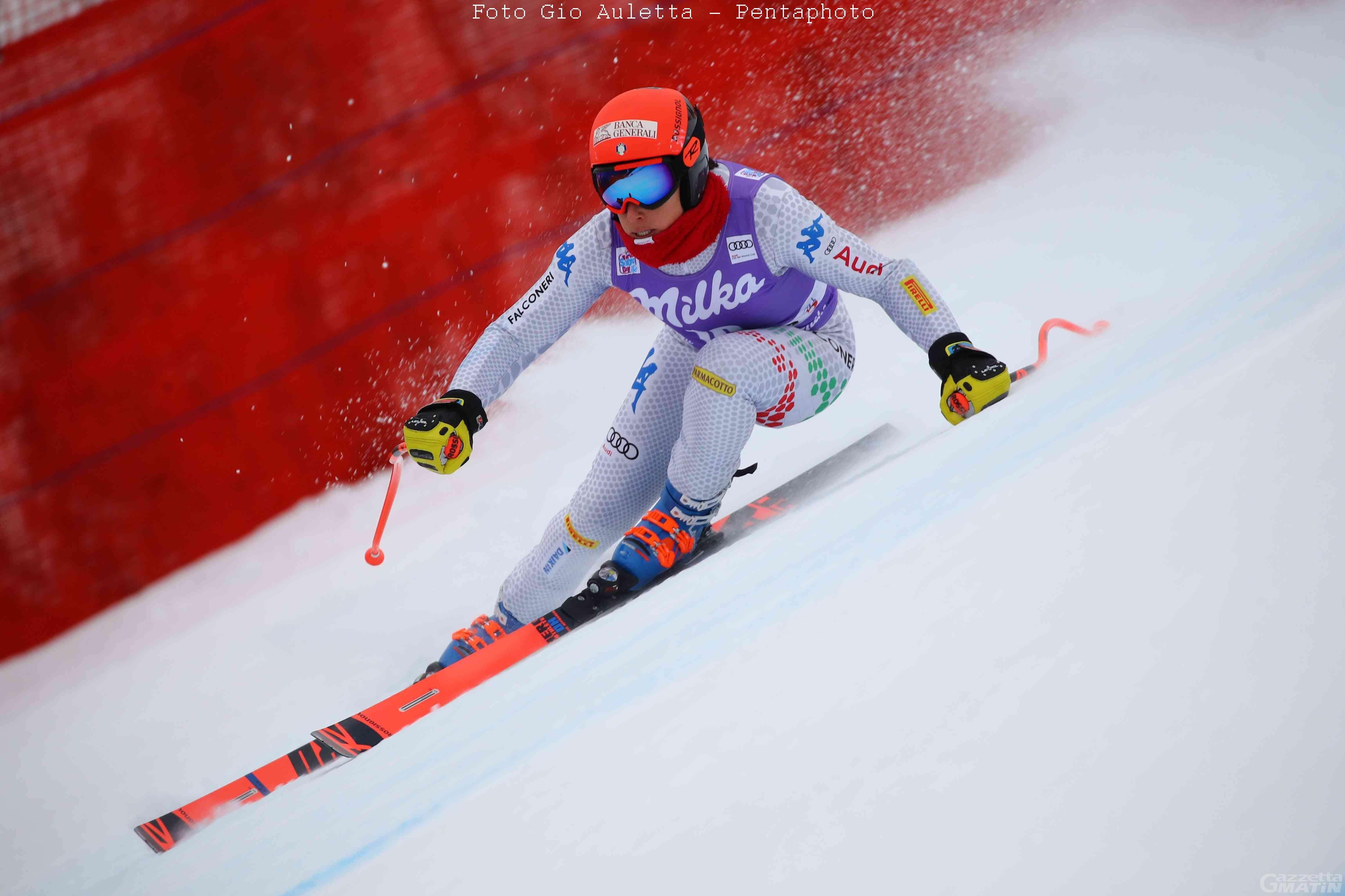 Sci alpino: ottima Federica Brignone nella discesa di Cortina