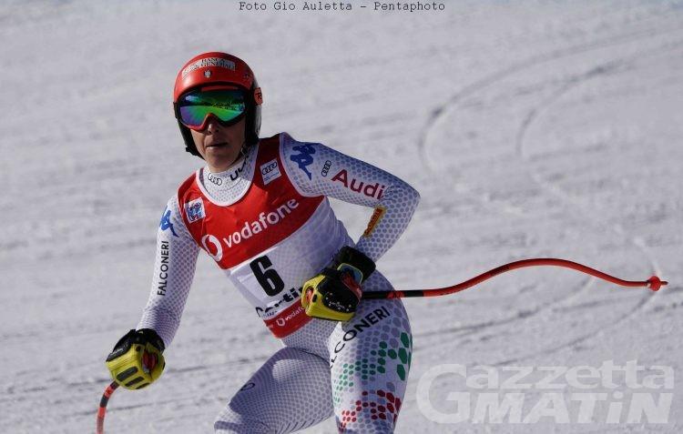 Sci alpino: Federica Brignone 24ª nella discesa di Cortina