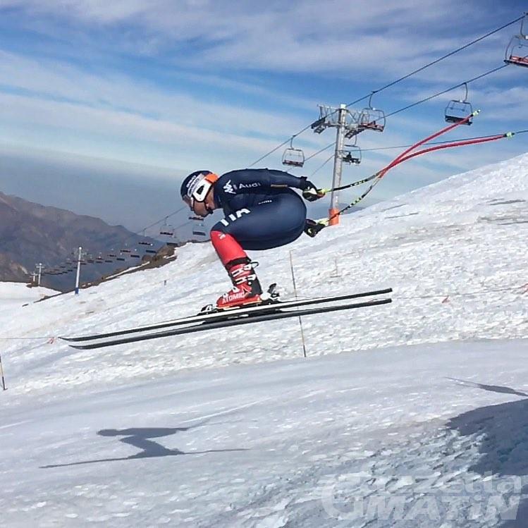 Sci alpino: Henri Battilani torna a sorridere in Coppa Europa