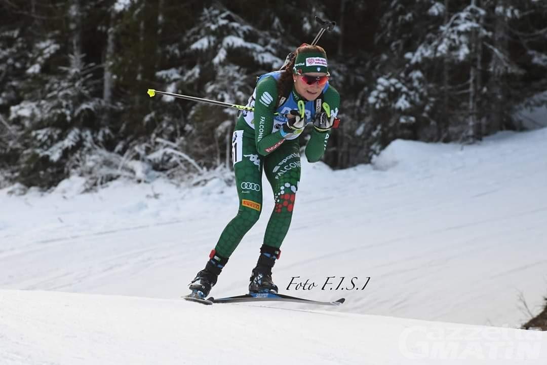 Biathlon: Nicole Gontier 41ª nella sprint di Ruhpolding