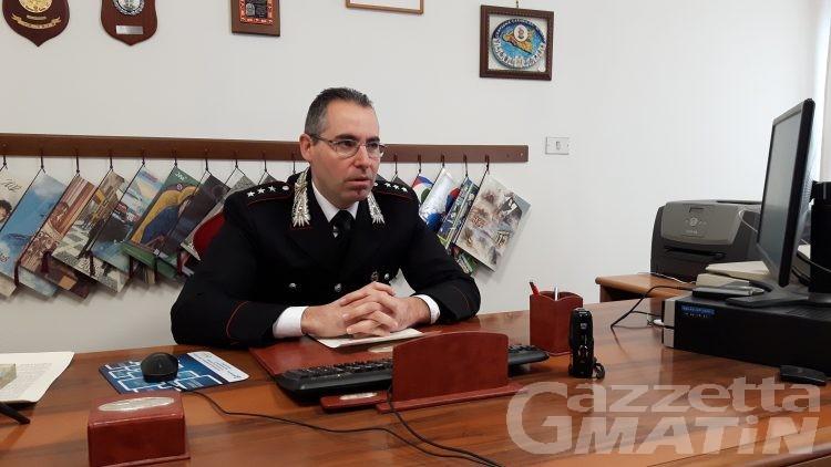 Carabinieri Saint-Vincent Châtillon: furti in calo, ma gli ubriachi al volante sono un problema