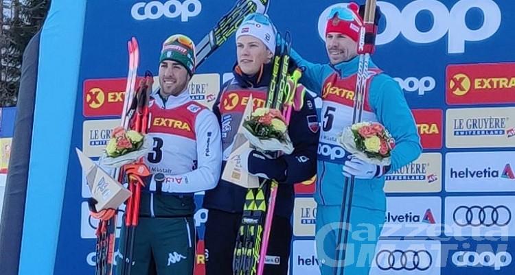Tour de Ski 2019:  Federico Pellegrino ostacolato, secondo dietro a Klæbo