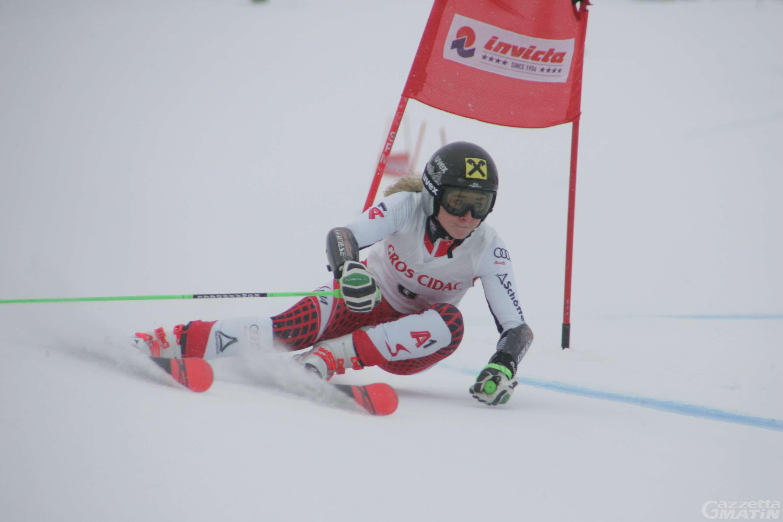 Sci alpino: Stephanie Resch concede il bis a Courmayeur