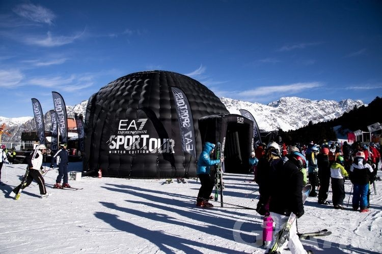 Armani Winter Tour, a Courmayeur l'ultima tappa