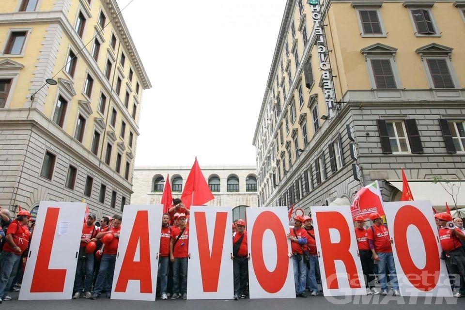 Lavoro, a Roma mobilitazione nazionale di Cigl, Cisl e Uil
