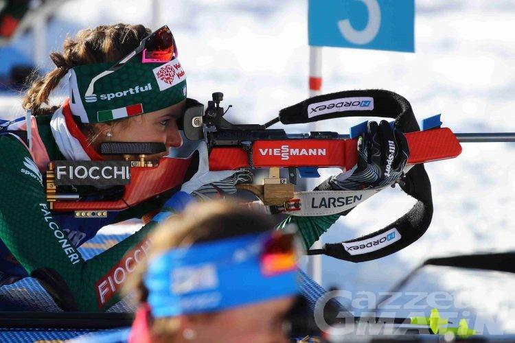 Biathlon: ottima Nicole Gontier nella staffetta di Canmore