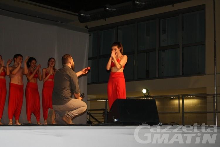 Verrès Got Talent, proposta di matrimonio allo show del paese