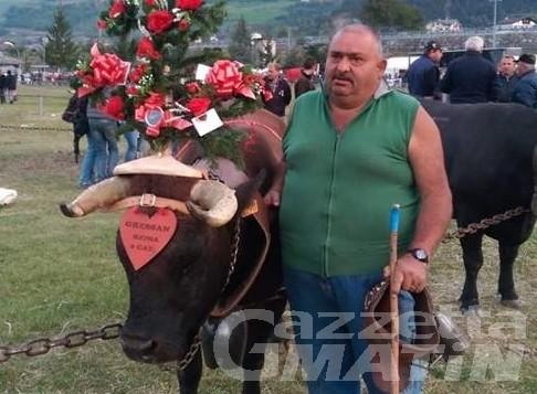 Gressan in lutto: è morto l'allevatore Giulio Chamen