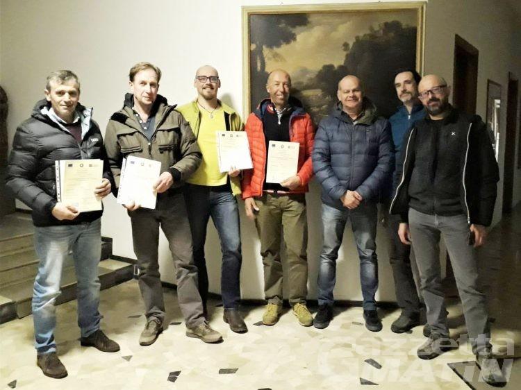 La Valle d'Aosta ha quattro nuovi istruttori forestali