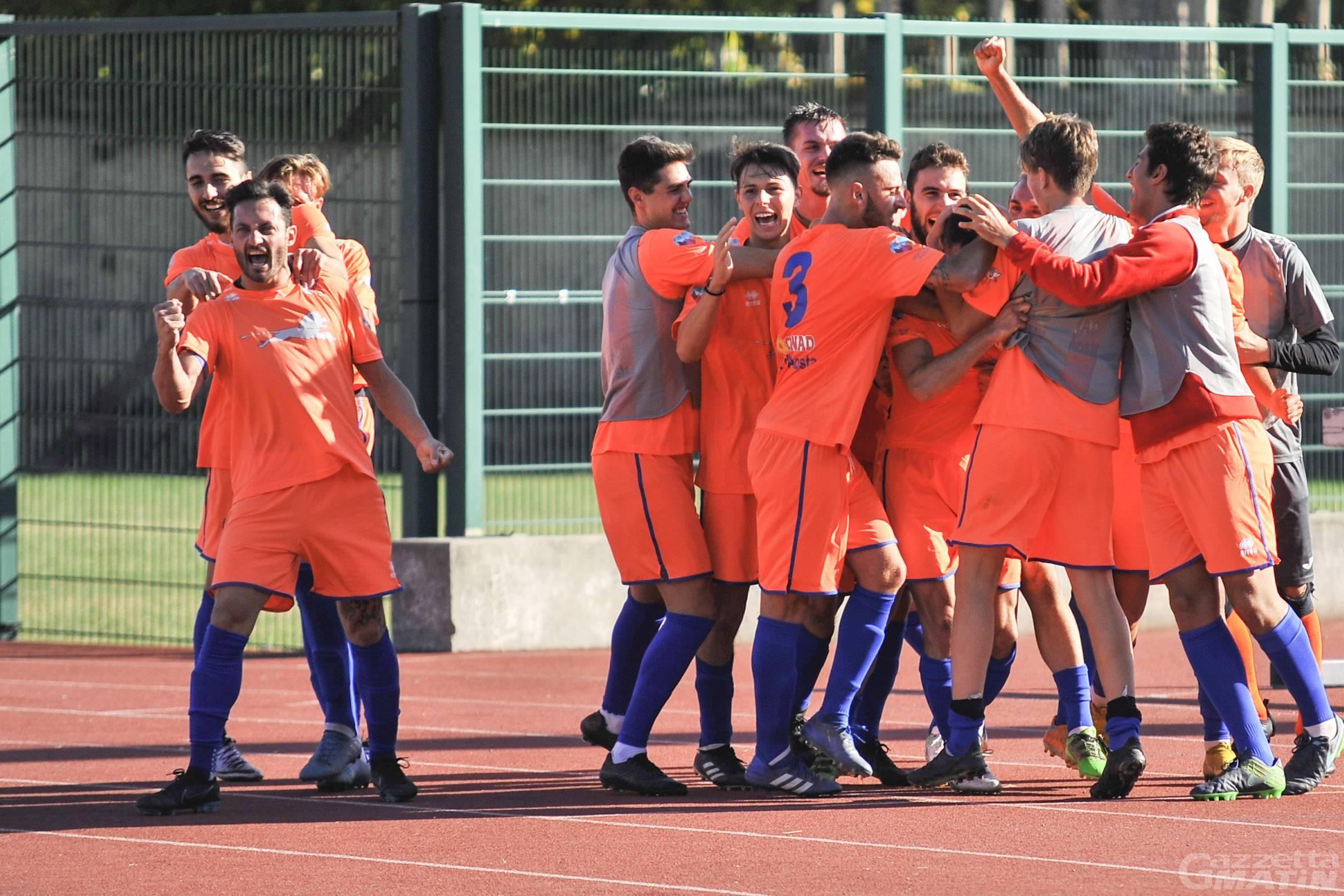 Calcio: il P.D.H.A. si porta a due punti dalla vetta