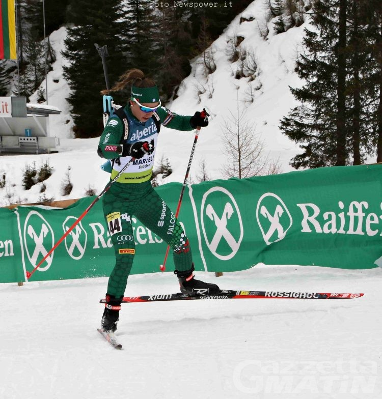 Biathlon: Samuela Comola brilla in Val Martello
