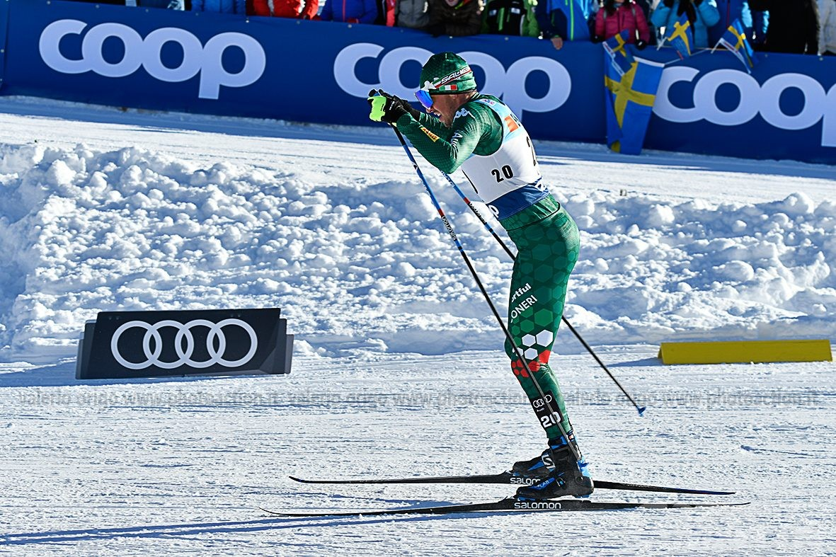 Fondo: De Fabiani sfiora il podio a Quebec City