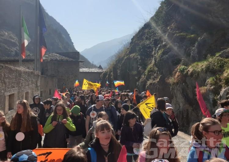 No alle mafie, 1200 ragazzi a Bard con Libera Valle d'Aosta