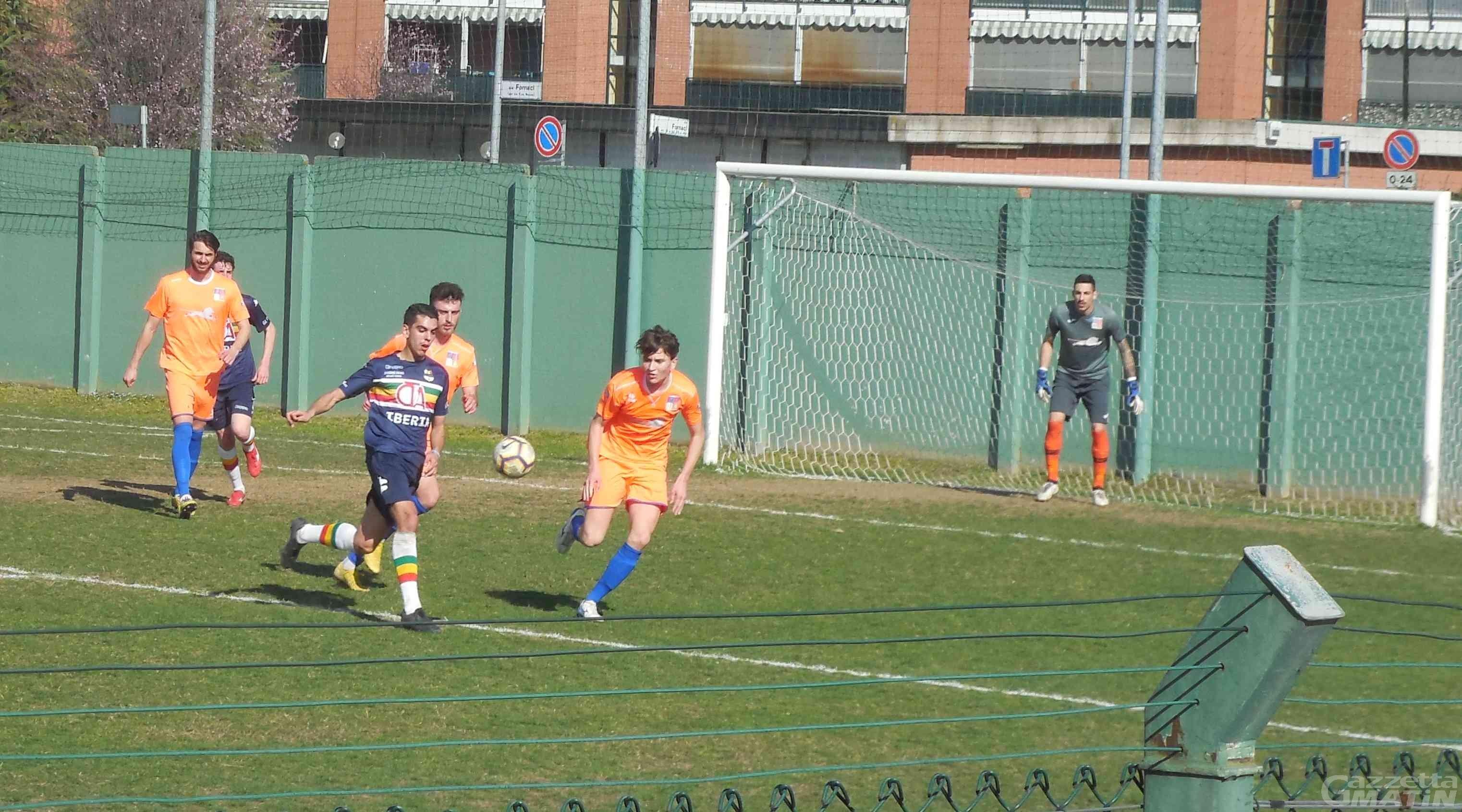 Calcio: il P.D.H.A. pareggia e vede scappare il Verbania