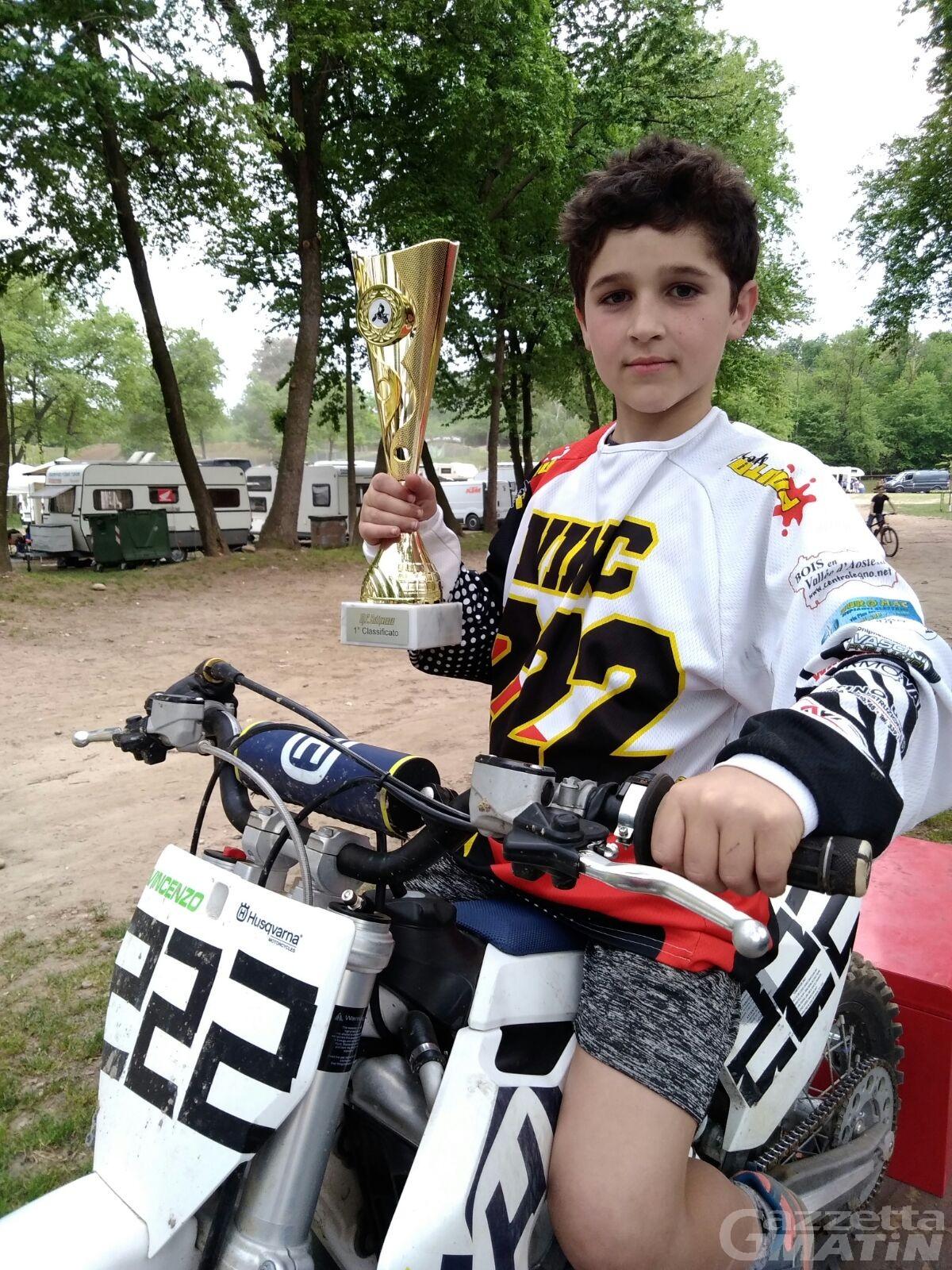 Motocross: Vincenzo Bove subito protagonista