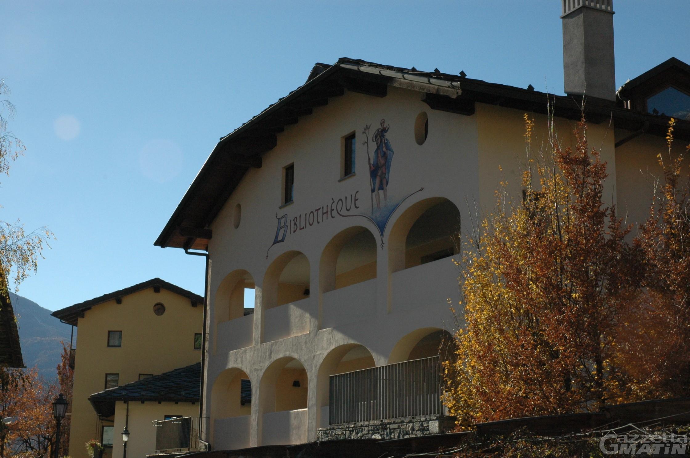 Saint-Christophe: la biblioteca intitolata alla 'guaritrice' Geppina Pallais