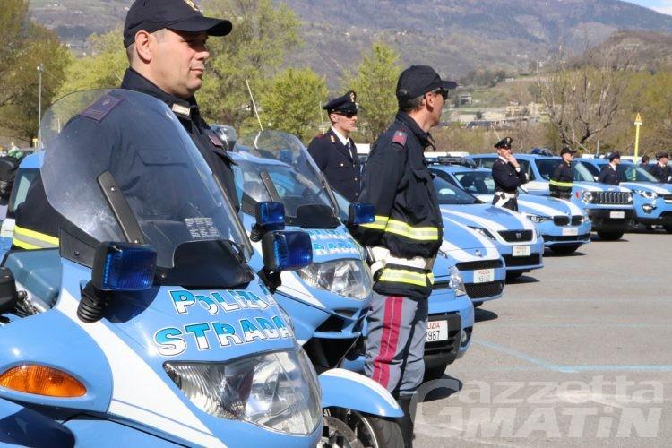 Polizia: meno furti ma più arresti alla frontiera