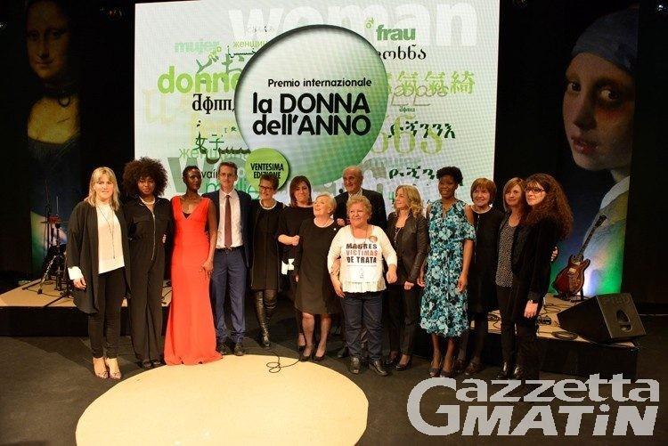 Premio Donna dell'anno 2019, scelte le tre finaliste: via al voto online