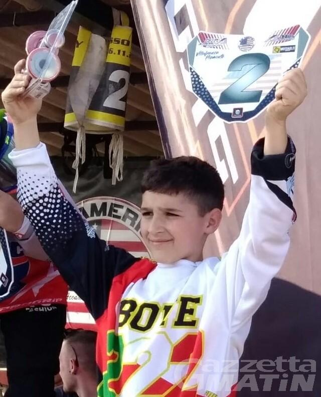 Motocross: Vincenzo Bove secondo a Villafranca