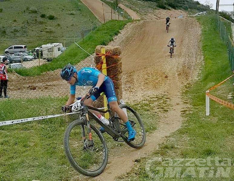 Mountain Bike giovanile: bene i fratelli Agostinacchio nel GRand Prix Centro Italia