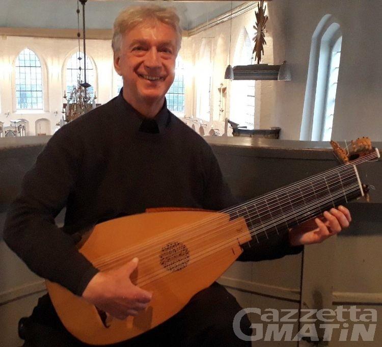 Musica: ad Aosta il concerto del liutista Zimmermann