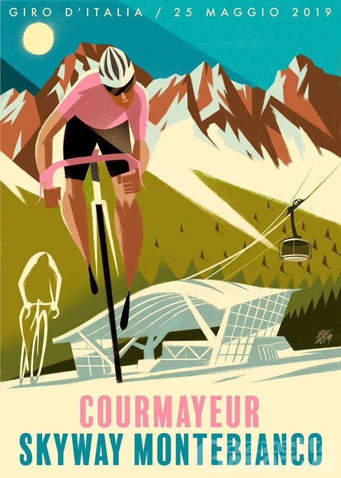 Courmayeur, sapore vintage per il Giro d'Italia