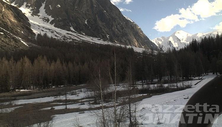 Courmayeur, Pasqua senza sci di fondo in Val Ferret