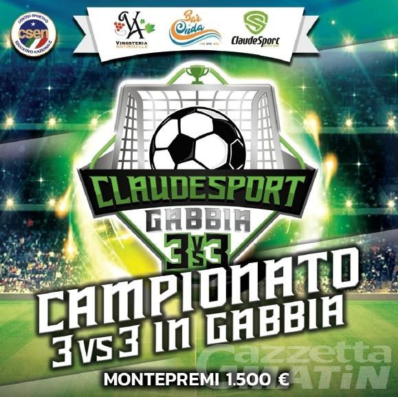 Calcio: ClaudeSport propone il 3vs3 in gabbia ad Aymavilles