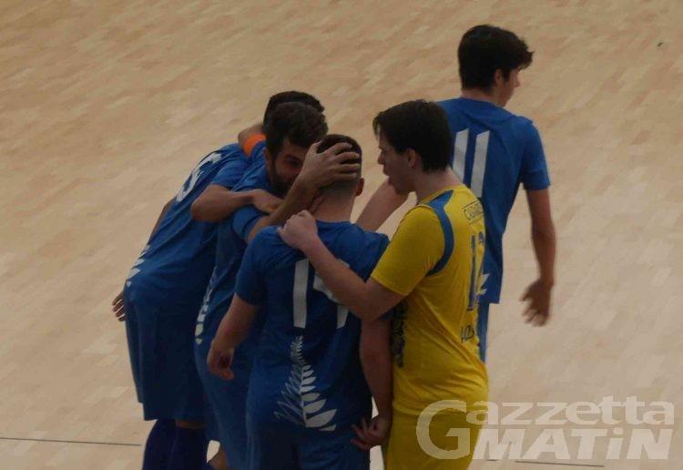 Futsal: l'Aosta Calcio 511 vola in serie A2