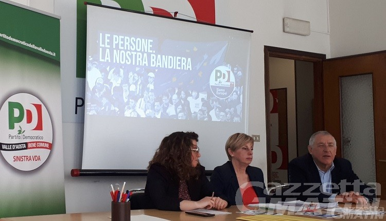 Pd Valle d'Aosta: «siamo l'alternativa alla Lega»