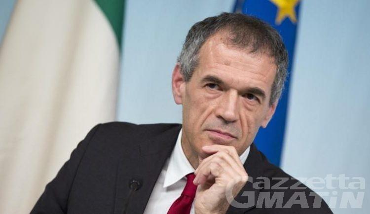 L'economista Carlo Cottarelli ad Aosta venerdì 10 maggio
