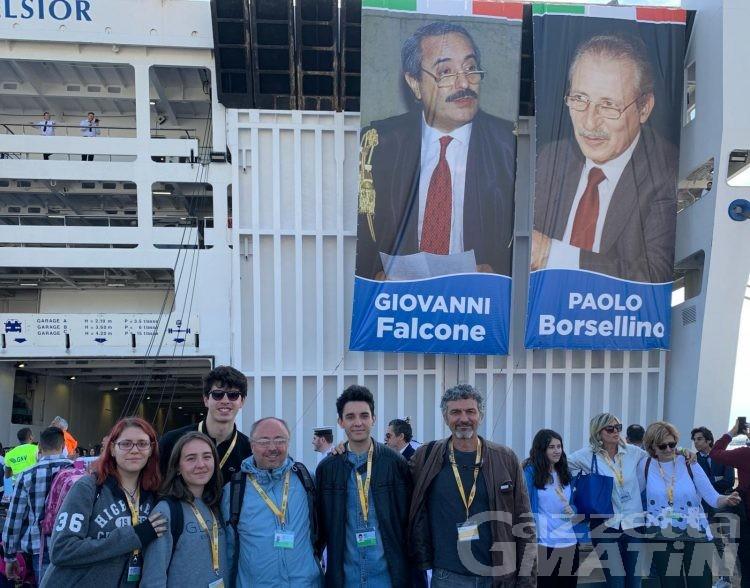 Legalità: una delegazione di studenti a Palermo per ricordare Falcone
