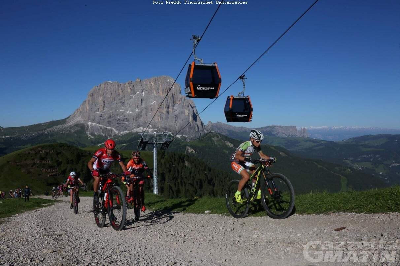 MTB: Daniel Pinet completa la Sudtirol Dolomites