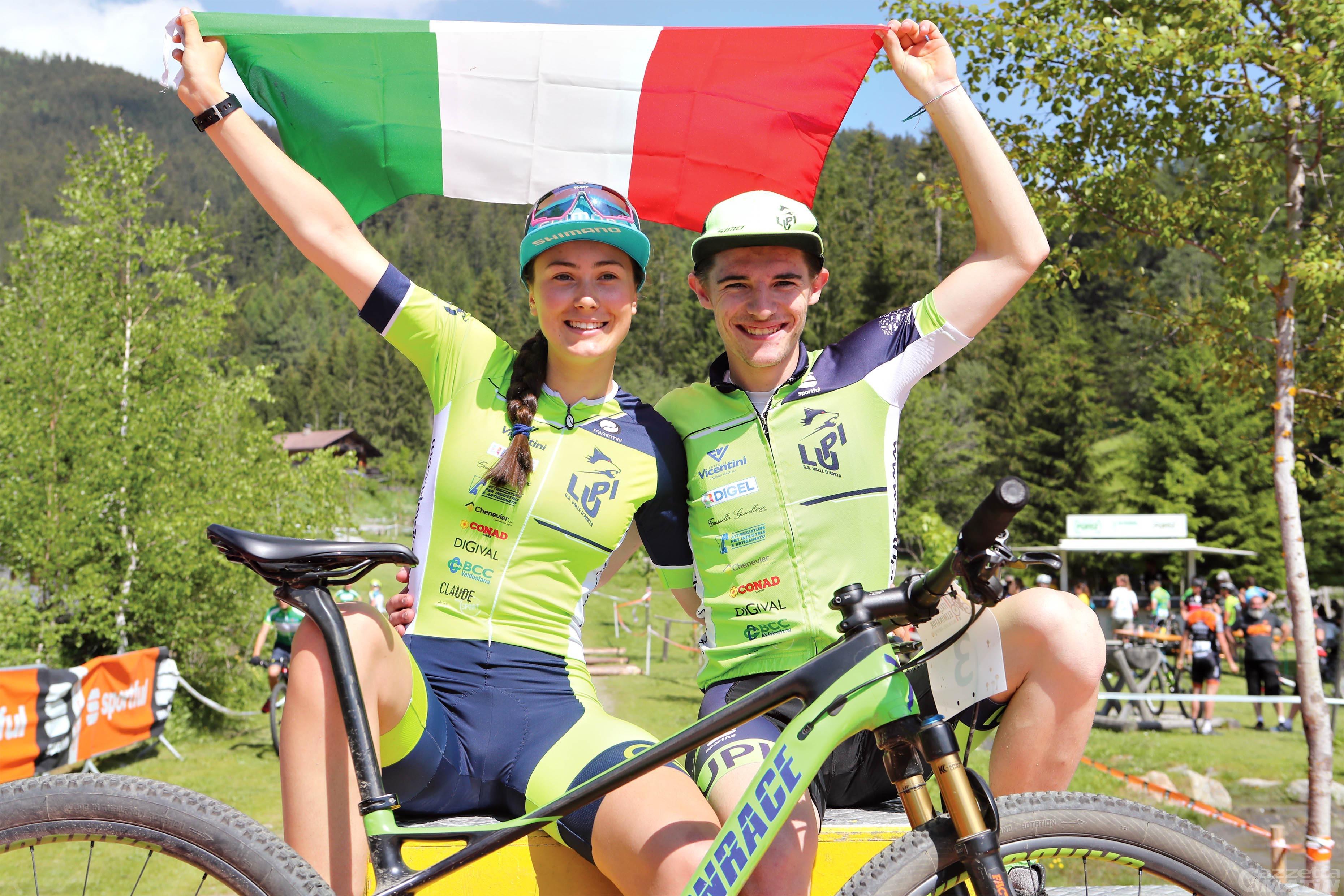 Mountain bike, Gaia Tormena e Simone Masoni campioni italiani XC Eliminator