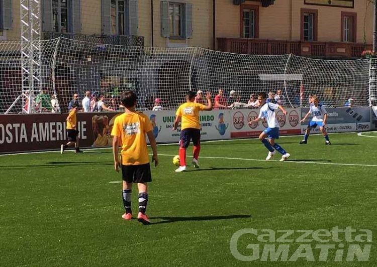 La Piazza Aosta: il Gioca Kids ha inaugurato l'ultima giornata