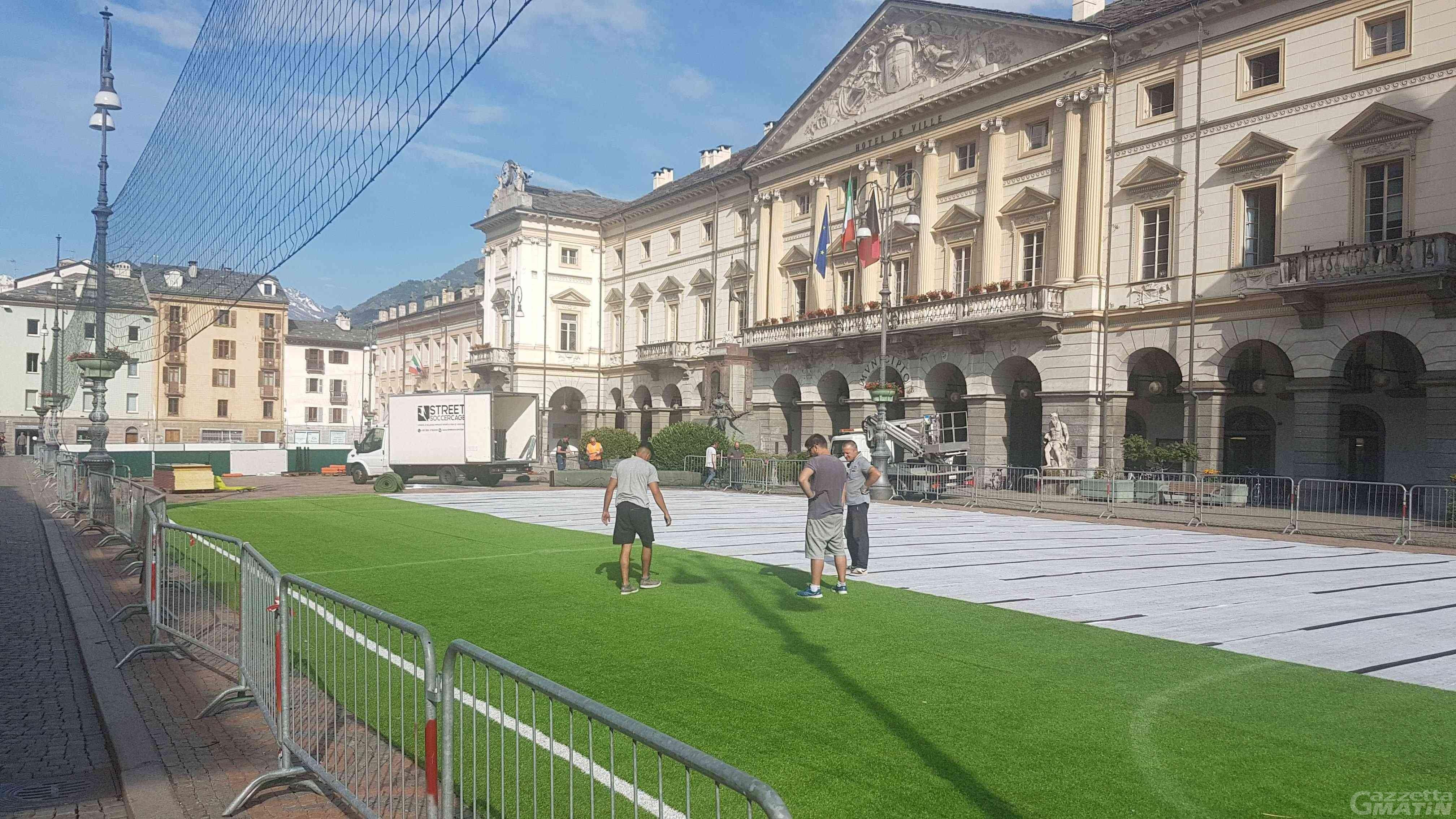 La Piazza Aosta: 45 squadre al via del Memorial Castelnuovo