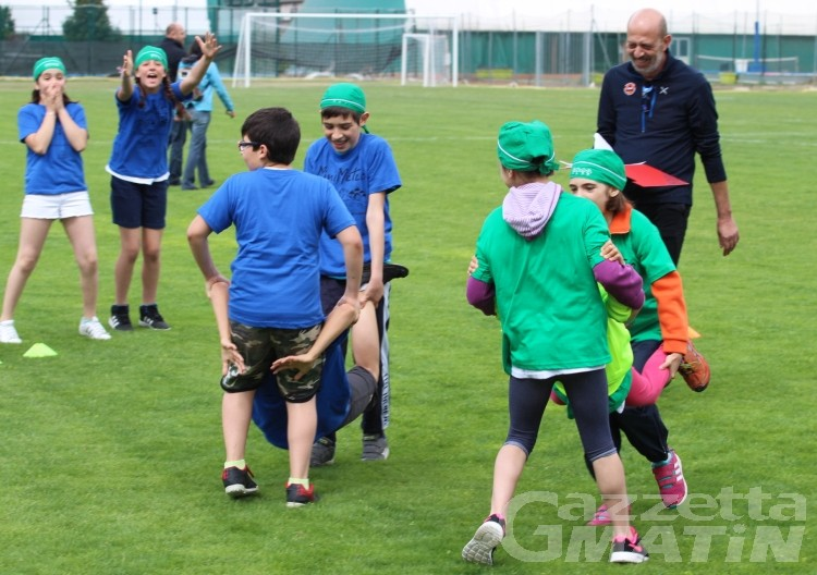 Scuola: studenti meteorologi in festa allo stadio Puchoz