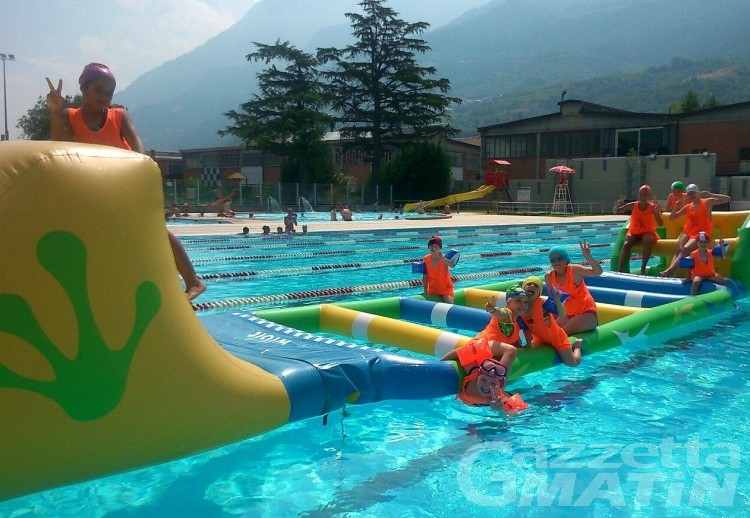 Estate ad Aosta: riapre venerdì 14 giugno la piscina scoperta