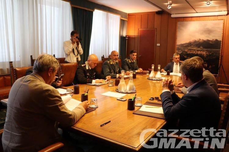 Sicurezza, Cosp: necessarie azioni comuni ma ad Aosta la situazione non è emergenziale