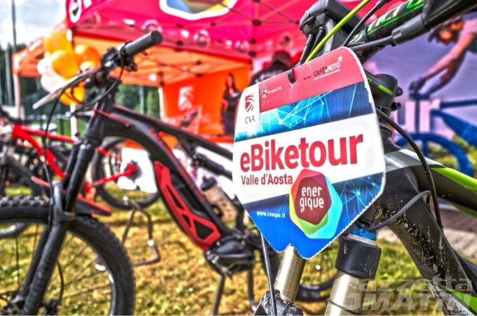 Mobilità sostenibile, nel weekend il CVA eBiketour a La Thuile e Sarre