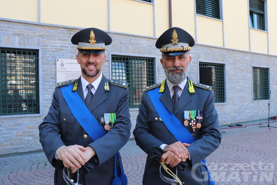 Cananzi: «Il lavoro della Finanza in questi anni ha cambiato la storia della Valle d'Aosta»