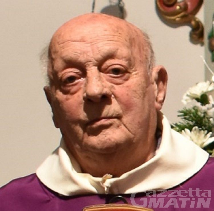 Lutto: è morto don Antonio Bizzotto, parroco di Montjovet